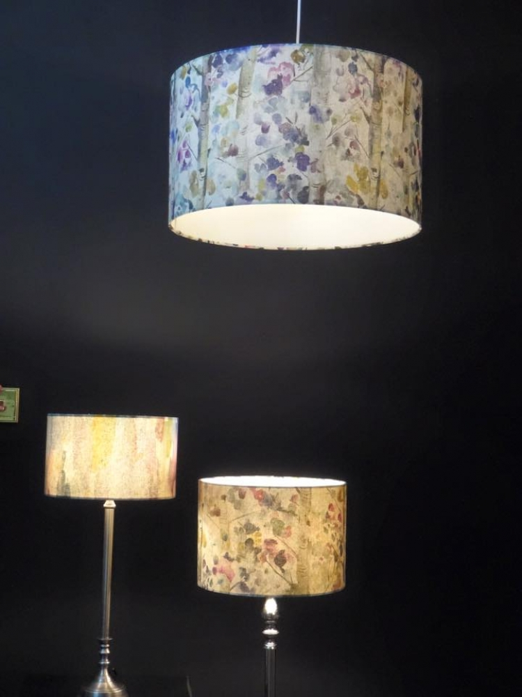Smudge Colours Lamp Interior Designs Sussex