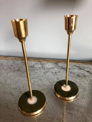 Set of 2 Candle Sticks Image