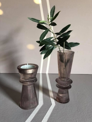Rose Glass Candle/Vase S Image